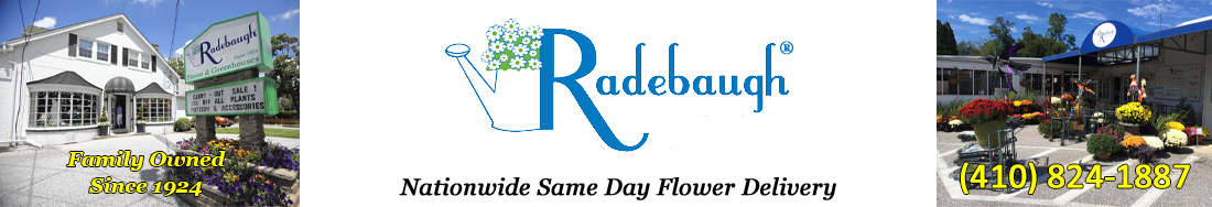 Radebaugh Florist Blog Logo
